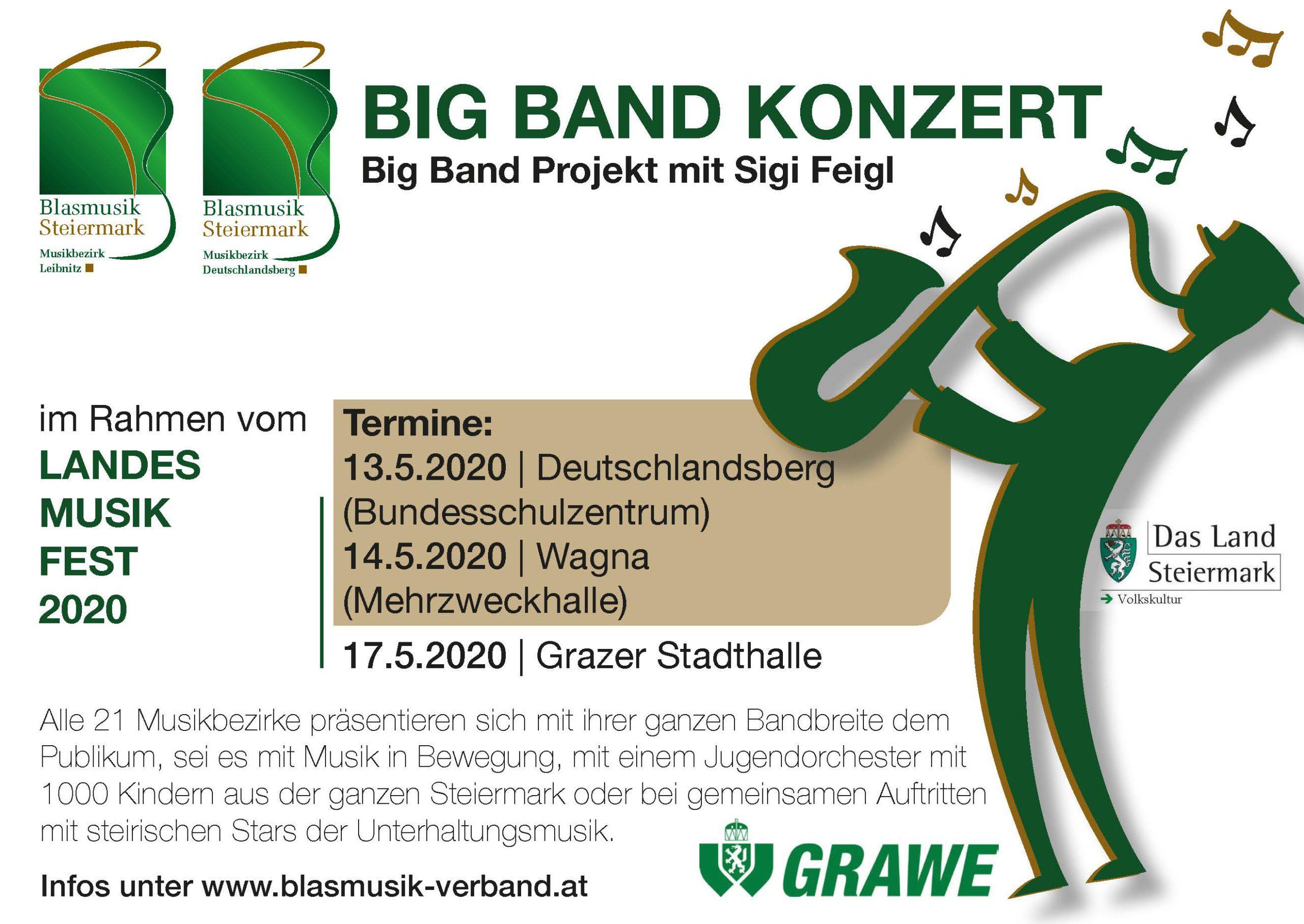 Big Band Projekt mit Sigi Feigl