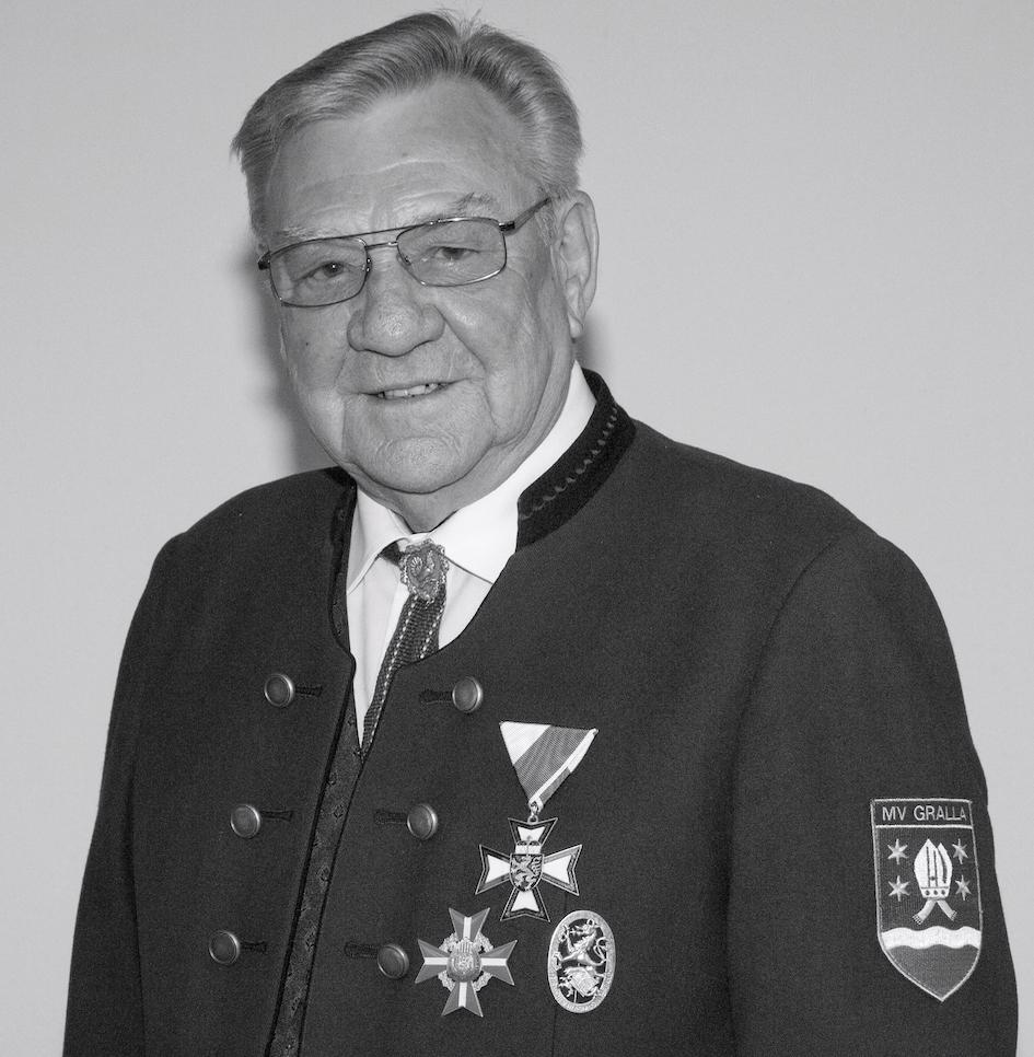 Ehrenobmann Albin Prinz schloss am Samstag, dem 13. Februar, kurz nach seinem 82. Geburtstag (9. Februar 1939) für immer seine Augen.